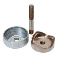 Greenlee 745H-3 Punch Unit For 3 Conduit Includes: Punch, Die & Draw Stud (29452)-1