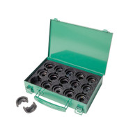 Greenlee KD06AL Die Kit For 8 Awg-350 Kcmil Aluminum Connectors(includes All Aluminum Die Sets Listed Below And Carrying Case)-1