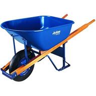 Ames True Temper M6FFBB Wheelbarrow 6 Cu Ft Steel Flat Free Wheel-1