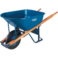 Ames True Temper M6T22BB 6cu.ft. Steel Tray Contractor Wheelbarrow-1