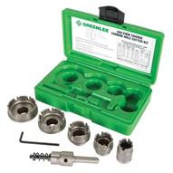 Greenlee 660 Kwik Change Stainless Steel Hole Cutter Kit, 7 Piece-5