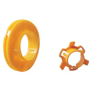 Greenlee 712A1000 1,000 Bushings For Pre-punched Hole Or 1-11/32 (34.1 Mm) Diameter Hole Punched By 710-1
