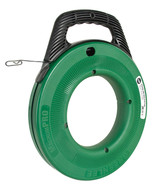 Greenlee Fts438-65bp Steel Fish Tape - 65' 1/8 (19.8 M 3.2 Mm) 3-pack (3 In A Box)-1