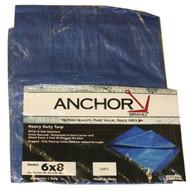 Tarps 1225 Anchor 12'x25' Blue Polytarp-1