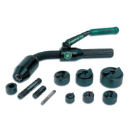 Greenlee 7706SB Standard Quick Draw Flex Driver, 1/2 Through 2 Slug-buster®conduit Size Punches And Dies, 2 Draw Studs, 1 Adapter, 1 Spacer And Case-1