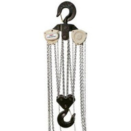 Jet 109100 L-100 1500wo-20, 15-ton Hand Chain Hoist With 20' Lift & Overload Protection-1