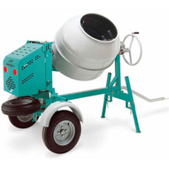 Imer Workman 250E 9 Cubic Electric Tow Behind Concrete Mixer 110/220-4
