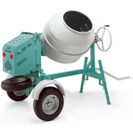 Imer Workman 350G 5.5HP 12 Cubic Gas Tow Behind Concrete Mixer-3