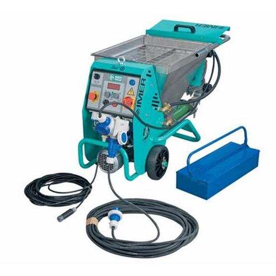 "IMER Plaster Sprayer ""SMALL 50"" Premixed Mortar & Fireproofing PACKAGE-7"