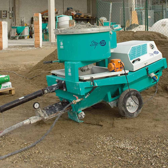Imer Step-Up 120 Towable Electric 220v 3 Phase 7.5 HP Pumping, Spraying and Mixing Machine-3