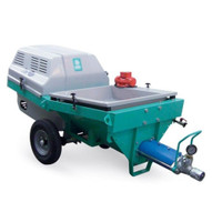Imer Step-Up 120 Towable Electric 220v 1 Phase 3 HP Pumping, Spraying and Mixing Machine-0