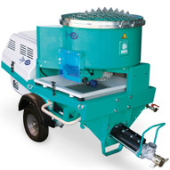 Imer Step-Up 120 Towable Electric 220v 1 Phase 3 HP Pumping, Spraying and Mixing Machine-1