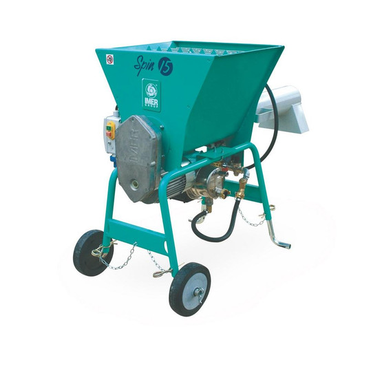 IMER Spin 15A 220 Volt Continuous Mixer for Pre-Blended Materials-2