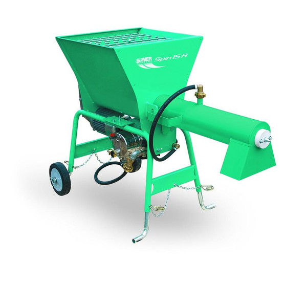 IMER Spin 15A 220 Volt Continuous Mixer for Pre-Blended Materials-1