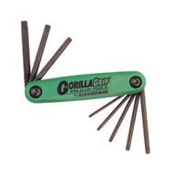 Bondhus 12632 T6-t25 Gorilla Grip Foldup Torx Tool Set-1