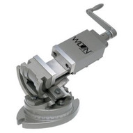"""Wilton 11700 3-axis Precision Tilting Vise 2 Jaw Width, 1"""" Jaw Depth-1"""