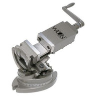 """Wilton 11702 3-axis Precision Tilting Vise 4 Jaw Width, 1-1/2"""" Jaw Depth-1"""