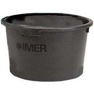 Imer 1193968k Replacement PLASTIC BUCKET (4 HANDLE) Qty 5 Buckets In Order-1