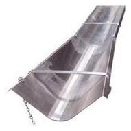 Bon Tools 12-813 8' Concrete Chute w/ Flared End-1