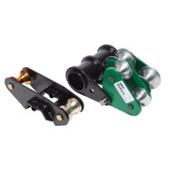 Greenlee 12584 Roller Unit, 1-1/2 - 2 Imc (555 Series) Single Groove Shoes(use With 26330 Shoe Group)-1