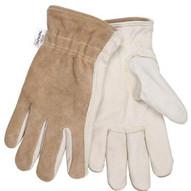 Memphis Glove 3204KL Cow Grain Drvr/split Back Kevlar Lined L-1