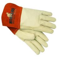 Memphis Glove 4950L Grain Leather Gauntlet Cuff Sewn W/kevl (12 PR)-1