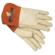 Memphis Glove 4950M Grain Leather Gauntlet Cuff Sewn W/kevl (12 PR)-1