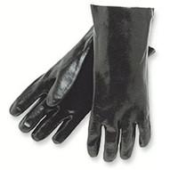 Memphis Glove 6212R 12 Gauntlet Interlock Lined Rough Finis (12 PR)-1