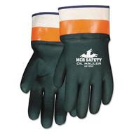 Memphis Glove 6410SC Oil Hauler Dark Greenpremium Double Dip Pvc (12 PR)-1
