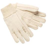 Memphis Glove 9018C 100 Percent Cotton Double Palm Nap-in (12 PR)-1