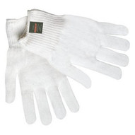 Memphis Glove 9620 100% Thermstat White String Glove Dupont Holl (12 PR)-1