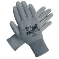Memphis Glove 9696S Ultra Tech Gray Pu Palmnylon 13 Gauge-1