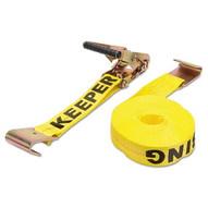 Keeper 04623 2x27' Ratchet Tie Down10000 Lbs Flat Hook-1