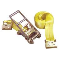 Keeper 04637 Tie-down 27'x3 Rachet15-000lb Flat Hooks-1