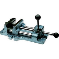 Wilton 13401 Cam Action Drill Press Vise 1204, 4 Jaw Width, 4-11/16 Jaw Opening-1