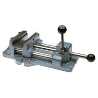 Wilton 13402 Cam Action Drill Press Vise 1206, 6 Jaw Width, 6-3/16 Jaw Opening-1