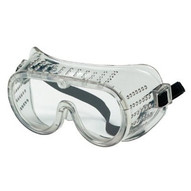 Crews 2220 Protective Goggle Clearframe Polycarbonate Lens-1
