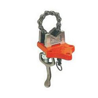 Hit Tools 14-BSCV25 Bottom Screw Chain Vise, Pipe Cap: 1/8- 2 1/2-1