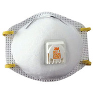 3m Personal Safety Division 8511 N95 Particulate Respirator, Half Facepiece, Two Fixed Straps, Reg