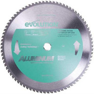 Evolution 14BLADEAL 14 X 80T X 1 For Cutting Aluminum, Max RPM 1500-1