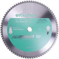 Evolution 14BLADEAL 14 X 80T X 1 For Cutting Aluminum, Max RPM 1500-1
