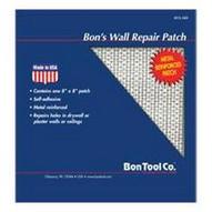Bon Tool 15-344-B0 Wall Repair Patch, Length: 6, Width: 6-1