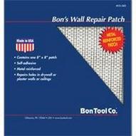 Bon Tool 15-345-B0 Wall Repair Patch, Length: 8, Width: 8-1