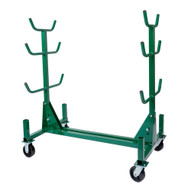 Greenlee 668 Mobile Conduit And Pipe Rack With 603 Casters-1