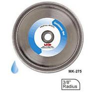 MK Diamond MK-275 154025 8 in. 3/8 in. Radius Profile Wheel For Marble-1