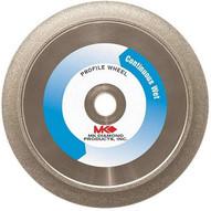 MK Diamond MK-275G 155854 6 in. 1/2 in. Radius Profile Wheel For Granite-1