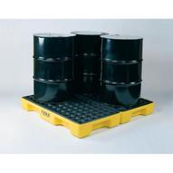 Eagle Manufacturing 1634 4 DRUM MODULAR PLATFORM Spill capacity 30 gal. per side-1
