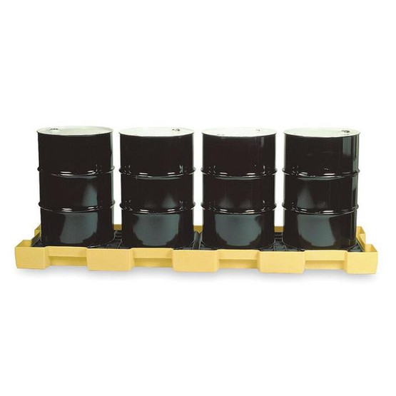 Eagle Manufacturing 1647 4 DRUM IN-LINE SPILL CONTAINMENT PLATFORM W/O Drain-1