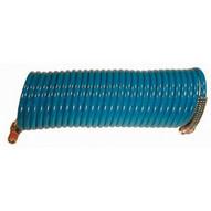 Coilhose Pneumatics S14-25 1/4id X 25' Stowaway Coilhose W/rigid Fit-1