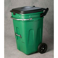 Eagle Manufacturing 1696GN 65 Gal Wheeled Waste E-cart W/lid-1